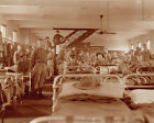 Marines in the Squad Room of Marine Barracks in Washington DC 1917 Photo Print