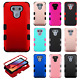 For LG G6 Rubber IMPACT TUFF HYBRID Case Skin Phone Cover Accessory