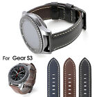 22mm Luxe Grand Leather Watch Band Strap for Samsung Gear S3 Classic Frontier