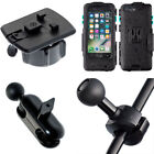 Scooter Moped 8-16mm Mirror Stem Mount + Waterproof Case for iPhone 7 Plus 5.5""