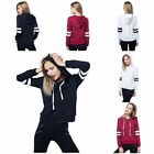 Coat Sweatshirt  Fashion Top Jacket Hoodie  Women Long Sleeve  Sport Wear