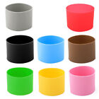 Silicone Expandable Reusable Heat Resistant Nonslip Glass Bottle Mug Cup Sleeve