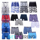2,3 Pack Mens Boxers Shorts Adults Underwear Briefs Printed Crosshatch  Low Rise