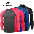 XPRIN Long sleeve Compression Skin Wear Tight Gear Base Layer Rash Guard