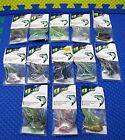 """g-fly trolling tips Flies w/30"""" Leader  In Clear Pack CHOOSE YOUR COLOR!! $4.99 USD on eBay"""