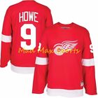 GORDIE HOWE Detroit RED WINGS Throwback HEROES of HOCKEY Vintage Jersey S-XXL