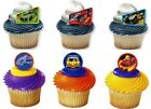 Hot Wheels Cupcake Rings Party Favors Cake Toppers