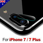 9H Hardness Back Camera Lens Tempered Glass Film Protector For iPhone 7 / 7 Plus