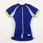 Women's Short SLEEVE Cycling JERSEY in Blue Made by Cannondale