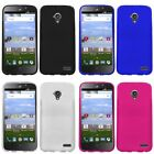 For ZTE Stratos Allstar LTE Case TPU Rubber Crystal Skin Phone Slim-Grip Cover