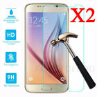 2Pcs 9H+ Premium Tempered Glass Film Screen Protector For Samsung Galaxy Phone R
