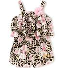 Juicy Couture Toddler Girls Sleeveless Ruffles Romper Size 2T 3T 4T $60