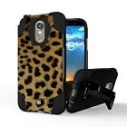 LG Stylo 3 LS777 Stylo 3 Plus Rugged Shockproof Case w/Stand Dual Layer Cover
