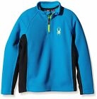 Spyder Jungen 155126-480 Skipullover Boy's Outbound Mid WT Core Sweater Blau