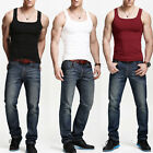 2017 NEW MENS SINGLET COTTON GYM ATHLETIC VESTS TANK TOP SUMMER TRAINING VEST