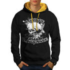 The Lord of Vengeance Skull Life Men Contrast Hoodie S 2XL NEW  Wellcoda
