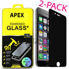 Anti-Spy Peeping Privacy Tempered Glass Screen Protector For iPhone 6 6s 7 Plus