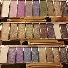 Women Pro Palette 9 Shades Glitter Eyeshadow Make up Pallet Eye Prime A+ F1