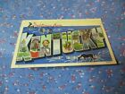 Old Postcard Camp Campbel Tenn Greetings from Kentucky   Large Picture Letters