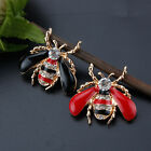 1 PC Cute 3D Gold Plated Bee Pin Korean Fashion Alloy Pin Women Animals Jewelry