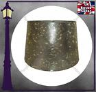 """GOLD COLOURED DRUM LAMP SHADE - 10"""" / 12"""" EMBOSSED FLORAL DESIGN - GREAT QUALITY"""