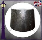 """SILVER COLOURED DRUM LAMP SHADE - 10"""" / 12"""" EMBOSSED FLORAL DESIGN GREAT QUALITY"""