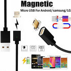2.4 A Micro USB Charging Charger Cable Magnetic Adapter For Samsung Android lot