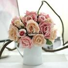 9x High Quality Rose Bouquet for Wedding Banquet #C Decoration Artificial Flower