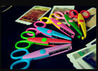 Children Colorful Handmade DIY Safe Paper Punches Pattern Scissor W97-W102 New