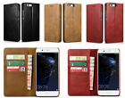 XOOMZ Genuine Leather Wallet Flip Case Cover For Huawei P 9/P 10 Plus/Mate 9 Pro
