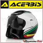 CASCO JET ACERBIS X-JET ON BIKE MULTI COLORE NERO/BIANCO/VERDE MOTO SCOOTER