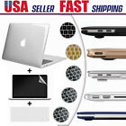 """Rubberized Hard Case Shell Keyboard Cover for Macbook Pro 13/15"""" Air 11/13""""inch"""