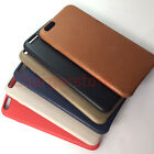 Original Apple Leather Case for iPhone 6 6S BLACK/RED/Midnight BLUE/Saddle Brown