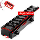 """Extend Dovetail 3/8"""" 11mm To Picatinny 7/8"""" 20mm Rail Adapter Rifle Scope Mount"""