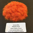 Serious-Play Martian Red Static Grass 4mm -Model Scenery Warhammer Wargame Fire