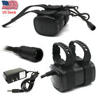 6600mAh 8.4V 6x 18650 Battery Pack For Headlamp Bike Bicycle Light & Charger_US