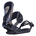 2017 NIB MENS RIDE REVOLT SNOWBOARD BINDINGS $240 Black lightweight aluminum