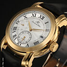 KS Luxury Imperial Men's Leather Day Date Automatic Mechanical Sport Wrist Watch