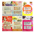 TOWNLEY (1) 65pc Nail Art DECORATIVE Sticker Set FOR KIDS New *YOU CHOOSE* 2/10