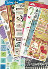 U CHOOSE  ASSORTED CARD STOCK FLAT Stickers (discounted) Paper House BoBunny etc