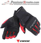 Gloves Dainese Clutch Evo D dry black red motorcycle scooter