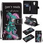 KT NEW Wallet PU Leather Book Stand Case Cover Skin For Phones Green Mouse