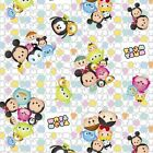 LICENSED TSUM TSUM DISNEY KIDS SEWING CRAFT QUILT FABRIC Free Oz Post
