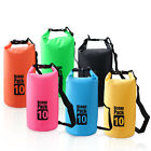 2 5 10 15 20 30L Waterproof Backpack Dry Bag Pouch Canoe Swim Camping Floating