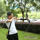 Outdoor Bow and Arrow Set Compound Kit Target Practice Archery Hunting