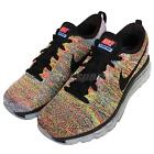 Wmns Nike Flyknit Max Black Multi-Color Rainbow Womens Running Shoes 620659-005