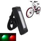 3 Color 100m USB Rechargeable COB Bicycle Lamp Front Rear Tail LED Light 500mAh