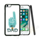 #1 Dad Grip Sides Gel Case Cover For All Top Mobile Phones