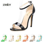 ZriEy(TM) WOMENS' TOE BRIDAL PATENT HIGH HEELS WORK WEDDING PARTY SHOES SANDALS