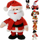 Musical Walking/ Dancing Singing Santa Snowman Reindeer Dog Christmas Decoration